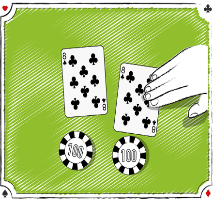 Blackjack Splitting 8`s