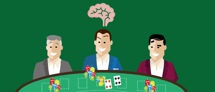 TOTAL PSYCHOLOGICAL EFFECT AT THE CASINO TABLES