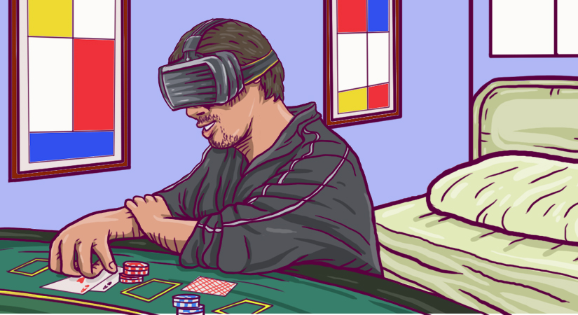 888casino - VR Poker from home